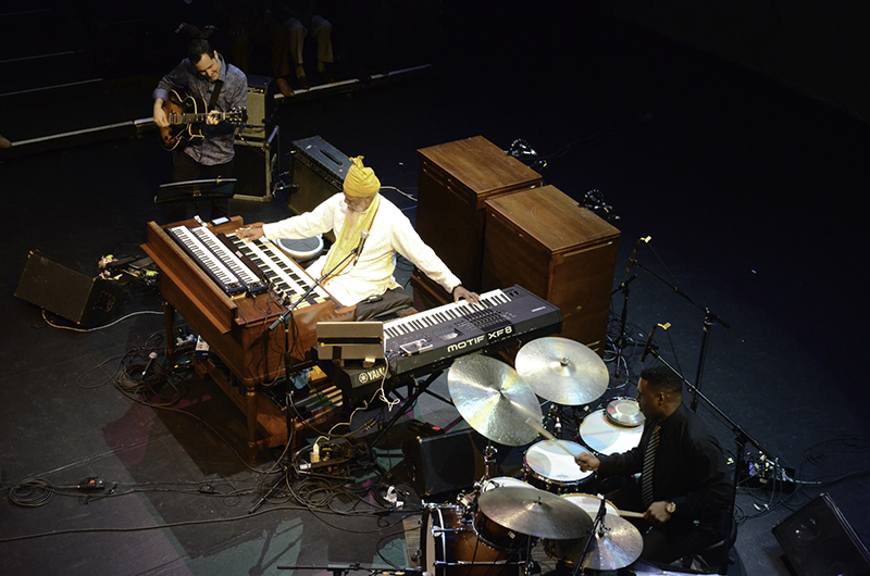 Dr. Lonnie Smith Trio Live on stage September 19, 2015