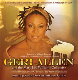 Geri Allen and the Mary Lou Williams Collective Playbill Poster